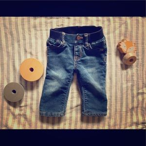 """GAP Baby """"My First Straight"""" Jeans 👖 size 6-12mos"""